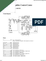 Modular Preamplifier Control Center