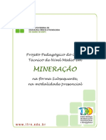 Tecnico Subsequente Em Mineracao 2012