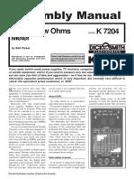 k7204 - ESR & Low Ohms Meter