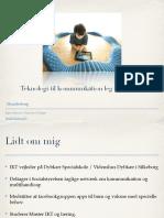 Kursus IKT til kommunikation, leg og læring