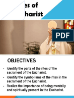 Rites of the Eucharist