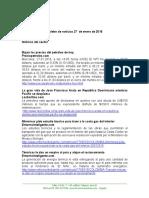 Boletín de Noticias KLR 27ENE2016