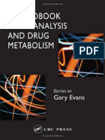 A Handbook of Bioanalysis and Drug Metabolism (2004, 0415275199)