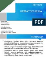 HEMATOCHEZIA ppt