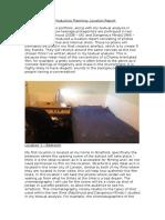 As Film Studies – Location Report