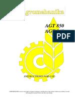 Manuals 2014 - Tractors AGT 850-860 - Eng