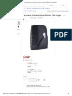 (1) Ionizador Alergia Acaros Ambiente Iones Elimina Olor Hogar - $ 550,00 en MercadoLibre