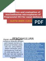 propanolol ppt