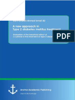 Diabetes Ebook:A new approach in Type 2 diabetes mellitus treatment Evaluation of the benefit