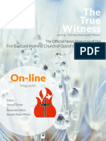 On-line True Witness 2015-Spring/Fall