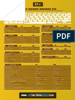 Adobe Bridge Keyboard Shortcuts Cheat Sheet HR
