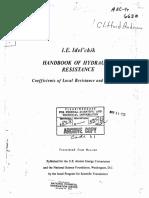Idelchik - Handbook Hydraulic Resistance