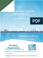 Coachingparamujeresprofesionalesmproactiva 110207121149 Phpapp02 Copia