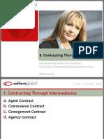 6. Contracting Through Intermediaries