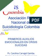 Primeros Aux. Emocionales en Crisis Suicida- Carolina Carvajal