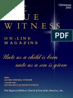 True Witness Christmas 2015