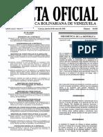 Gaceta Oficial Nº 40.836 - Notilogía