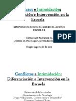 Conflictos e Intimidacion- Gloria Ines Rodriguez