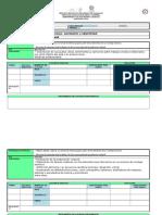 Ficha de Planeación Artes