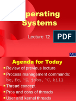 Operating Systems - CS604 Power Point Slides Lecture 12