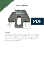 Numerical Modelling of Reflective Sensors