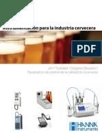 Instrumentacion Para Cerveza Castellano