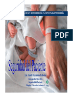 Seguridad Del Paciente Lic Ajendro Ariel Palacios