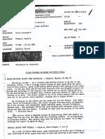 Flying Saucers Reported Over Belgian Congo Uranium Mines, 1952
