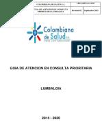 Guia Lumbalgiac Prioritaria 2015 2020