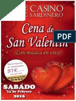 Gran Casino Sardinero - San Valentin 2016