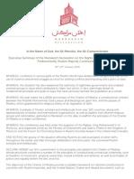 Marrakesh Declaration
