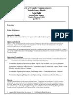 February 1, 2016 Draft Agenda Outline
