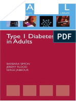 Diabetes Ebook:Type 1 Diabetes in Adults