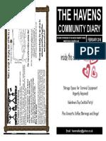 The Havens Community Diary February 2016