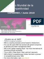 COPARMEX Competitividad de Las Naciones 2010 ModCarlos Maroto