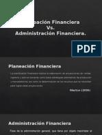 Planeacion y Administración Financiera