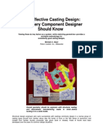 Cost Effective Casting Design
