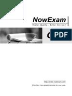 NowExam! 3M0-700 exam