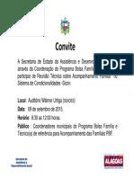Convite Bolsa Família Reunião Sicon [Modo de Compatibilidade]