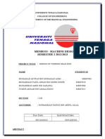 Report Md Group Project