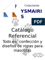 Referencia Ropa Mascotas diseños