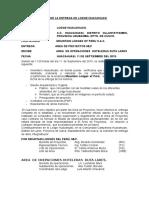 Acta de Entrega Huacahuasi derecho