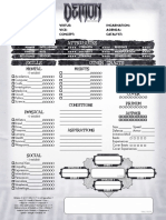 Demon Sheet