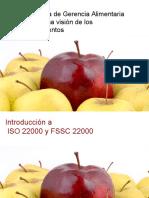 Introduccion y bases al Sistema  ISO22000