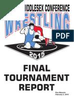 2015 GMC Wrestling Tournament Report