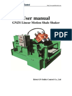 2014.05.07 GNZS Linear Motion Shale Shaker