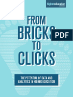 """From Bricks to Clicks - The Potential of Data and Analytics in Higher Education"""""""