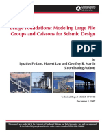 Bridge Foundations, Modeling Large Pile Groups - Po Lam, H.law and R. Martin