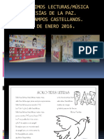 Poesias de La Paz 2016.