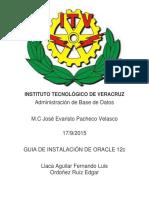 Practica3 Instalacion Oracle
